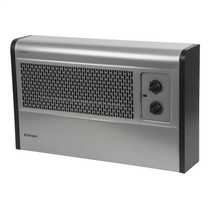 3kW Manual Wall Mounted Fan Convector Heater Silver