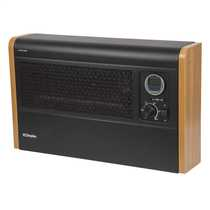3kW Automatic Wall Mounted Fan Convector Heater Black