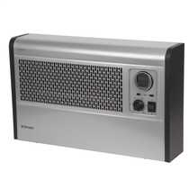 3kW Automatic Wall Mounted Fan Convector Heater Silver