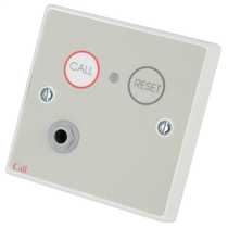 Standard Call Point with Button Reset and Remote Socket