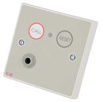 Standard Call Point and  Button Reset with Remote Socket