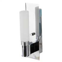Spa Single Bathroom Wall Light Chrome