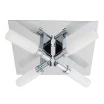 Spa Four Bathroom Ceiling Light Chrome