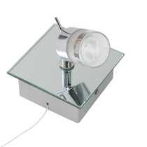 Ocean Single Bathroom Spot Light Chrome
