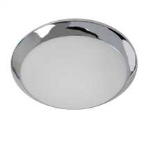 Mondo Flush Bathroom Ceiling Light Chrome