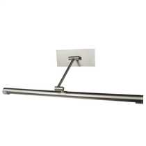 24W Picture Light Brushed Steel with Lamp