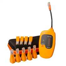 Patchmate Cable Tracer and Continuity Tester with 12 Remote Plugs