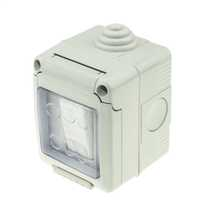 Gewiss weatherproof wiring accessories and devices cef 1 gang 1 way double pole 16a weatherproof switch ip55 asfbconference2016 Image collections