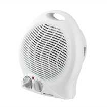 2kW Portable Fan Heater with Thermostat White