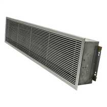 12kW Recessed Warm Air Curtain