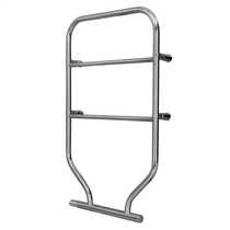 80W Fluid Filled Towel Rail CHrome