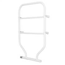120W Fluid Filled Towel Rail White