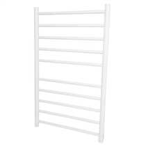 135W Dry Element Ladder Towel Rail White