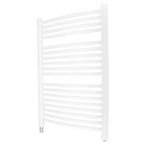 350W FLuid Filled Ladder Towel Rail White