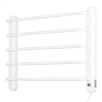 90W Ladder Towel Rail White