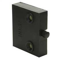 1A Surface Mounted Push to Break Door Switch Black (Sold in 1's)