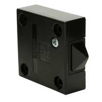 2A Surface Mounted Push to Break All Door Types  Black (Sold in 1's)