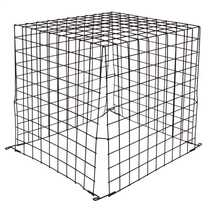 500mmx450mmx500mm Wire Guard Black