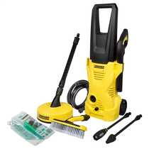 K2 Home Pressure Washer with Free Deluxe Wide Head Soft Brush