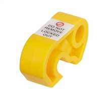LOK2 MCB Yellow Isolation Lock