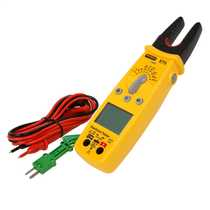 Electrical Tester with Open Jaw Current
