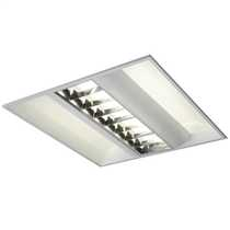 office light fittings. 55W 2 Tube Compact Fluorescent 4 Pin PL-S 600mm X High Frequency CAT Office Light Fittings F