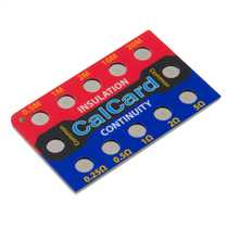 CalCards Resistance Check Card - Elecsa and NICEIC Branded