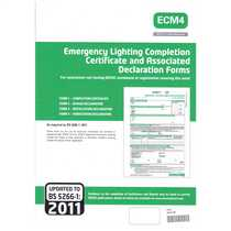 Emergency Lighting Completion Certificates