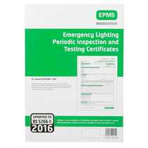 Emergency Lighting Periodic Inspection and Testing Certificates