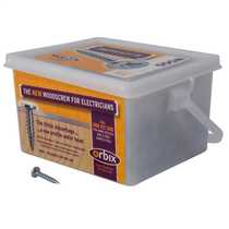 Trade Tub 8g x 25mm General Fixing Screws (Tub of 500)