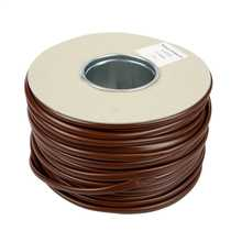 3.0mm PVC Brown Sleeving (100m Reel)