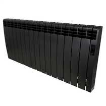 1.6kW Delta Ultimate Electric Digital Radiator Black Wifi Enabled