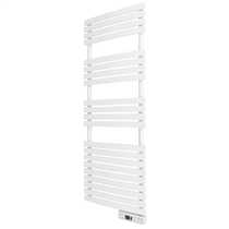 600W Delta Ultimate Electric Digital Towel Rail White Wifi Enabled