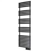 750W Delta Ultimate Electric Towel Rail Black Wifi Enabled