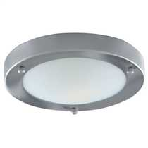 Flush 60W Bathroom Ceiling Light