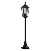 Alex IP44 1050mm Outdoor Post Black