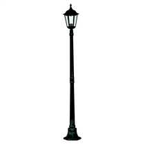 Alex IP44 1830mm Outdoor Post Black