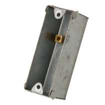 1 Gang 25mm Metal Flush Knockout (KO) Architrave Switch Box (Sold in 1's)