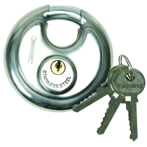 700mm Disc Padlock Stainless Steel
