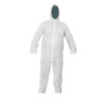 XXL Disposable Overall White
