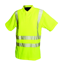 Hi Visibility Class 2 Polo Shirt Yellow Large