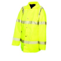 M Class 3 High Visibility Jacket Yellow