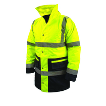 M Class 3 High Visibility Jacket Yellow/Black