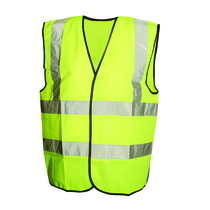 M Class 2 High Visibility Waistcoat Yellow