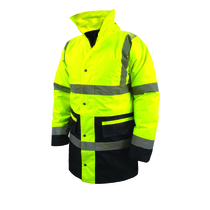 XL Class 3 High Visibility Jacket Yellow/Black