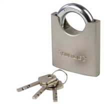 70mm Shrouded Padlock Steel