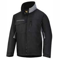 1128 Craftsman Winter Jacket Rip-stop Small Black/Grey