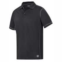2711 A.V.S Polo Shirt Black Small