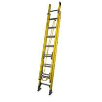 8 Tread Fibreglass Double Extension Ladder