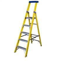5 Tread Fibreglass Platform Stepladder